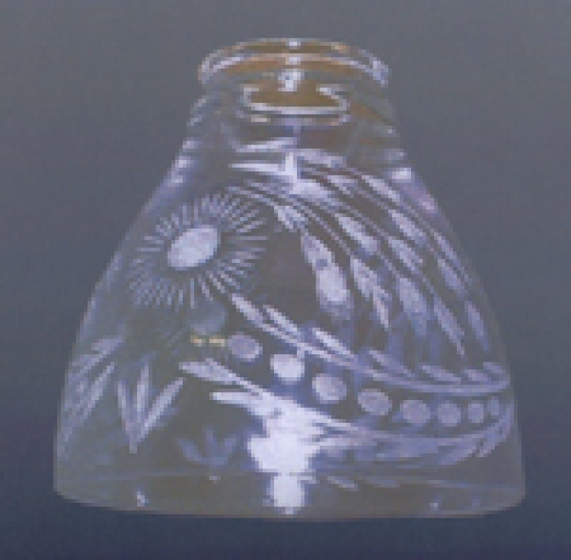 Clear Shade with Etching - TY243