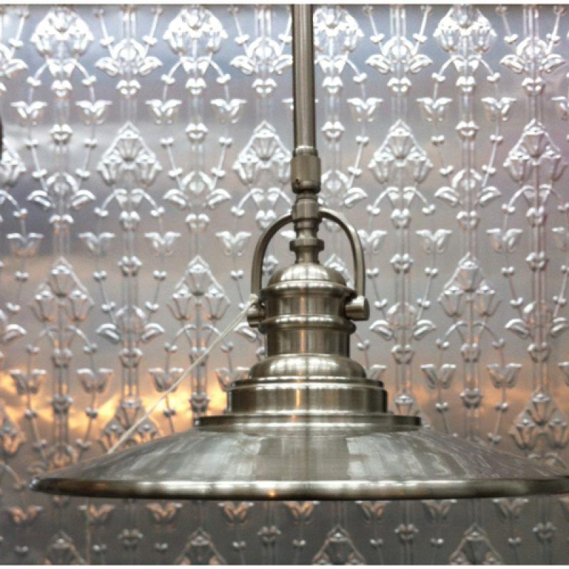 Industrial Aluminium 1 Light Pendant